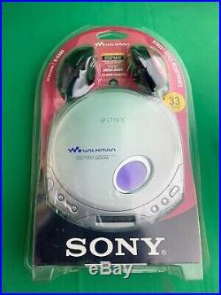 2003 SONY CD Walkman D-E350 Portable CD Player NEW (PACKAGE HAS SHELF WEAR)