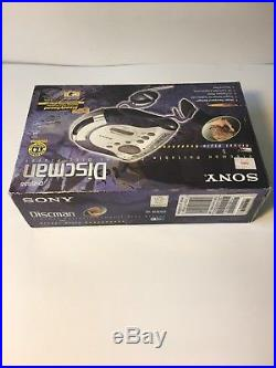 BRAND NEW Sony Discman ESP2 D-ES55 Portable Compact Disc Player Street Style