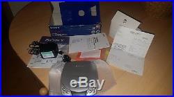 Boxed Sony CD Walkman D-E201 complete oroginal set inc receipt