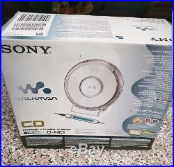 Brand New Sony D-NE1 ATRAC/MP3 CD Walkman Portable Personal CD Payer Silver