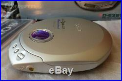 Brand New Sony Discman D-E351 CD Walkman Portable Compact Disc Player Silver