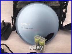 Classic Original Sony CD Walkman D-EJ775 Personal Player Complete Bundle