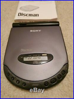 D-311 Sony Discman Tested Working