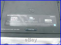 Lot of 2 Sony DVP-FX930 Portable DVD CD Player 9 Swivel Screen Black