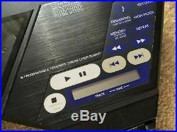 Lot of 5 vintage portable CD Players Sony Discman, Nokia, Citizen