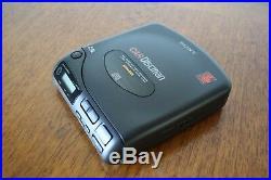 NEW IN A BOX Sony D-802K Car Discman + Cassette Adaptor & Power Supply
