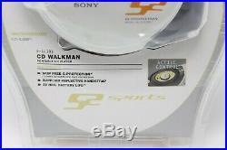 NEW SEALED Old Stock Sony S2 Sports CD Player Walkman Discman D-SJ301