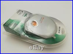 NEW SONY D-E340 Walkman Portable CD Player + Headphones 90 Days Warranty