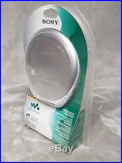 New SEALED SONY D-EJ360 SCC PORTABLE CD Player Walkman Discman. Collectable