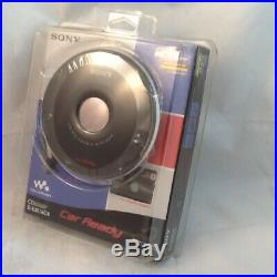 New Sealed Sony Discman Portable CD Walkman Player with Car Kit (D-EJ016CK/C)