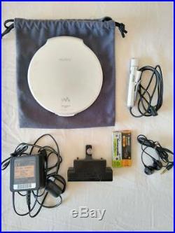 Operation goods SONY portable CD player D-NE20 WALKMAN Walkman