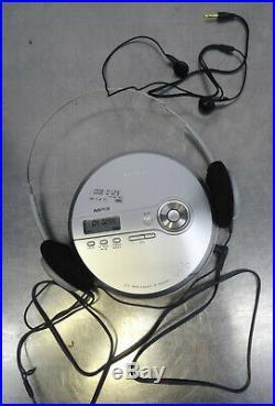 Portable pocket discman walkman SONY D NE 241 + Philips SBC HL 140 Kopfhörer