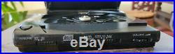 RARE! SONY DISCMAN PORTABLE CD PLAYER D-303 with Earphone & Adapter
