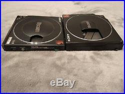 RARE Vtg DISCMAN D-10 50MKII CD Player 80s PARTS/REPAIR Made in Japan vintage