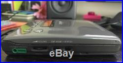 RARE vintage Sony Discman D-515 withAC adapter VGC Flagship PCDP ESP DSP DDS 1992