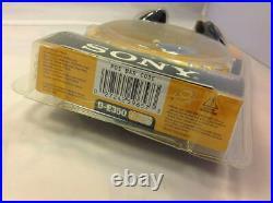 Rare Collectible Sony DE350 CD Player Walkman ESP MAX Radium Gold (D-E350/NCO)