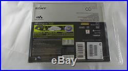 Rare Collectors New Factory Sealed Sony MP3/ATRAC CD Walkman Blue (D-NE319/LC)