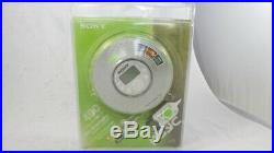 Rare Collectors Sony D-NE320 Atrac 3 Portable Player CD Walkman Electric White