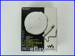 Rare Sony D-NE20 Portable CD-R-RWithMP3 Atrac Player/Walkman Digital Optical Out