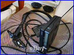 Rare Sony Discman D-25 With Complete Car Kit And Mounting Arm-free Shipping