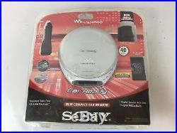 SONY CD WALKMAN D-EJ106CK Car Kit G Protection CD-R/RW Playback SEALED! D1