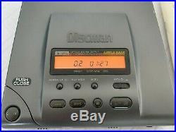SONY D-303 Discman Compact Disc tragbarer CD Player