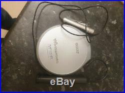 SONY D-EJ925 Portable Walkman CD Player Silver