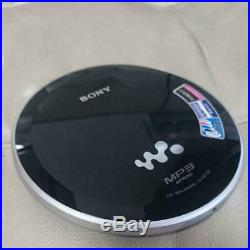 SONY D-NE730 Portable CD Player Black TESTED Working Good F/S