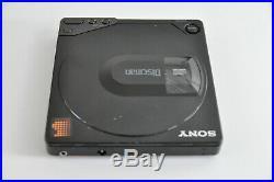 SONY D150 CD Walkman DISCMAN Black JAPAN for RESTORATION Collectable