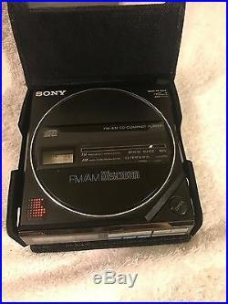 SONY D77 D55T Vintage CD Player - KaosunCD