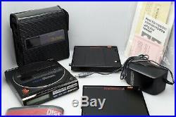 SONY D77 FM/AM Discman BP200 and EBP-380 Battery Pack Includes Soft Case
