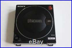 SONY DISCMAN D-100 Vintage HiFi Compact Disc Player + BP-100 Rarität von 1986