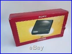 SONY DISCMAN D-11 CD PLAYER Mega bass Vintage Made in Japan