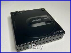 SONY Discman D-150 D-15 Black RESTORED Personal Portable CD Compact Player
