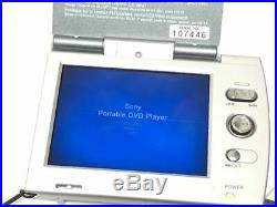 SONY Portable CD DVD player D-VM1 WALKMAN DVD Walkman operation confirmed, some
