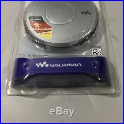SONY Walkman Personal Portable CD Player Silver Model D-EJ011 Sealed New