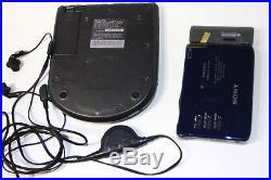SONY discman CD player D-311 D311 and wallman WM EX70