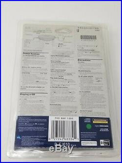 Sealed Sony PSYC CD Walkman Portable CD Player Black (D-EJ010)