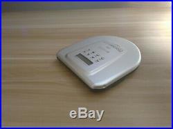 Sony CD Discman D-E805 ESP2 Portable CD Player Aluminum Cover Very Rare