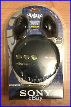 Sony CD Walkman D-EJ360 Portable Personal Compact Disc Player Psyc Navy Blue