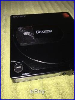 Sony D-15 Portable Discman Vintage Audiophile CD Player Mint Condition Working