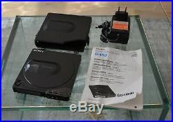Sony D-150 High End Discman mit Zubehör