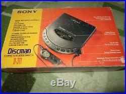 Sony D- 311 Discman CD Player