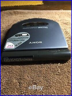 Sony D-311 Por Discman Vintage Audiophile CD Player Digital Audio Excellent