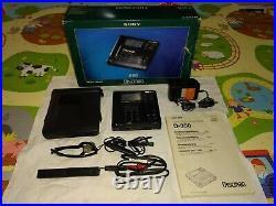 Sony D-350 D-35 portable CD player discman Vintage Collectible MINT UK SELLER