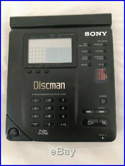 Sony D-350 D-35 portable CD player discman Vintage Collectible RARE UK SELLER