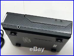 Sony D-5 Discman CD Player WithPower Supply Vintage 1985 USED Tested