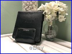 Sony D-555 D-z555 Portable Discman Original Leather Case Rare To FindFREE SHIP