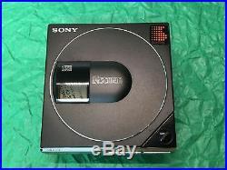 Sony D-7 Discman. Complete Set. Fully restored D-50 MkII