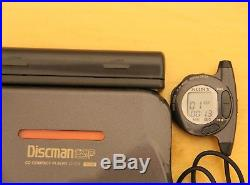 Sony D-777 Discman in Working Condition with Remote, Headphone and AC Adapter